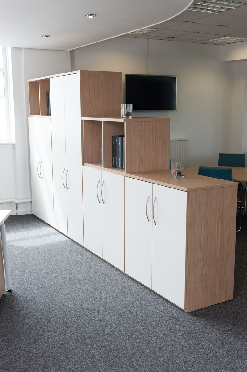 office space storage. 7 Tambour Storage Units With Open Above (00000002) Office Space